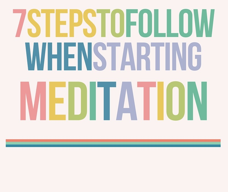 7 Steps to Follow When Starting Meditation ~ Step 6