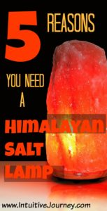 5 Reasons you need a Himalayan salt lamp for every room in your home. There are some salt lamp benefits here that I didn't know