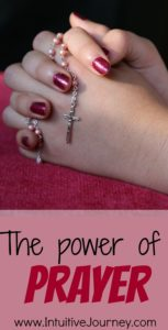 the power of prayer - here is some interesting info about praying