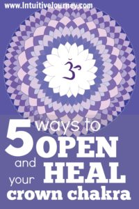 5 ways to open and heal your crown chakra. Some good info here. I didnt know about #1