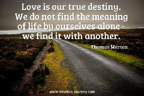 Love Is Our True Destiny Intuitive Journey
