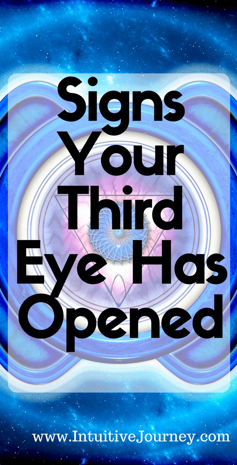 Signs Your Third Eye Has Opened | Intuitive Journey
