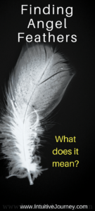 What does it mean to find angel feathers