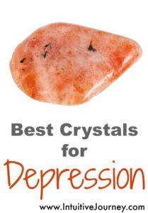best crystals for depression. I love using healing stones for depression. #healingcrystals #depression #crystalsfordepression