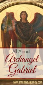 This has a great overview of the basics on Archangel Gabriel. #archangel #archangelGabriel