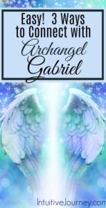 3 Easy ways to connect with Archangel Gabriel. Learn how to request Archangel Gabriels' presence.