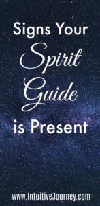 Spirit Guide Signs