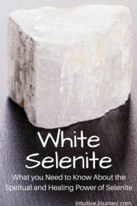 Spiritual and Healing Powers of White Selenite, a powerful healing crystal.  Need to make sure to have White Selenite in my collection of healing crystals and gemstones.