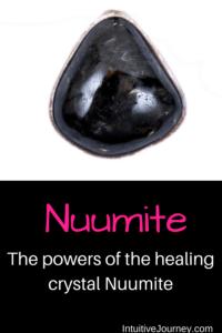 spiritual and healing powers of Nuumite