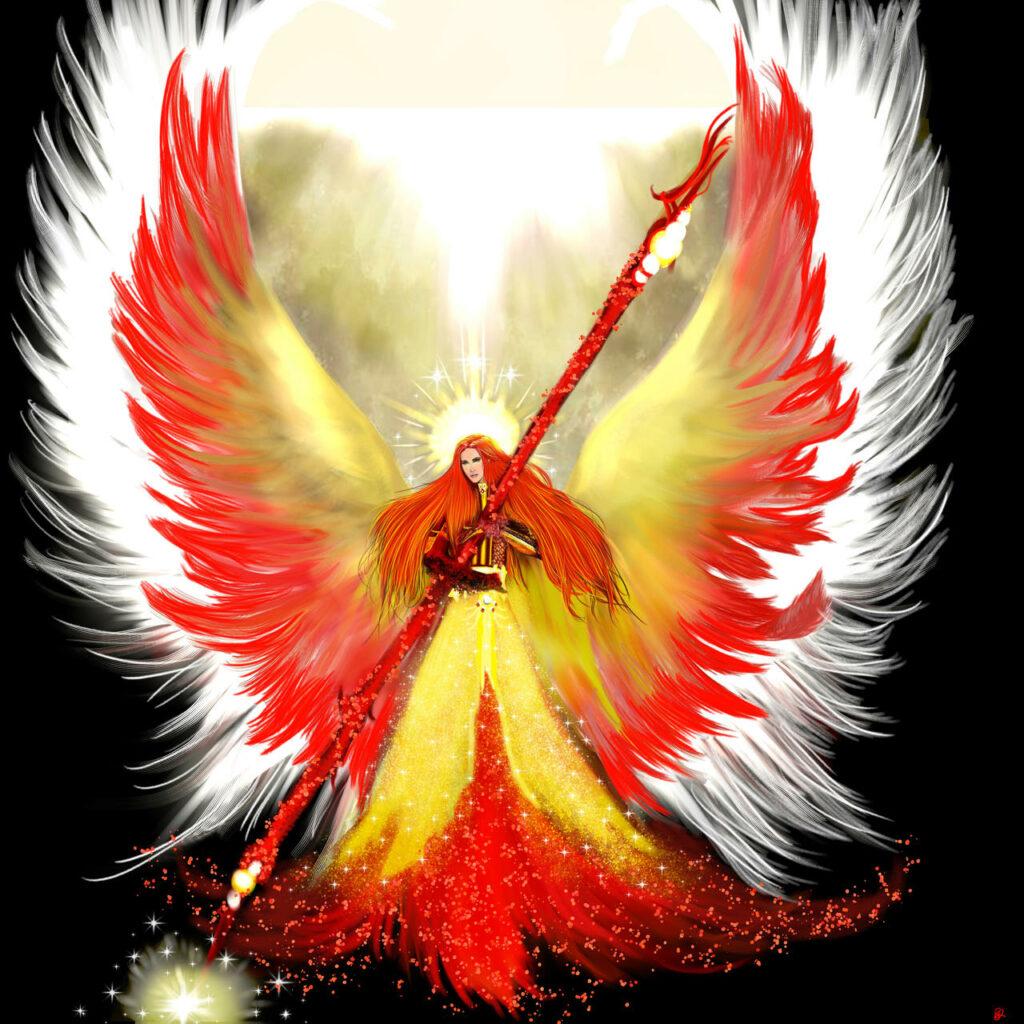 Archangel Uriel 'the flame of God'