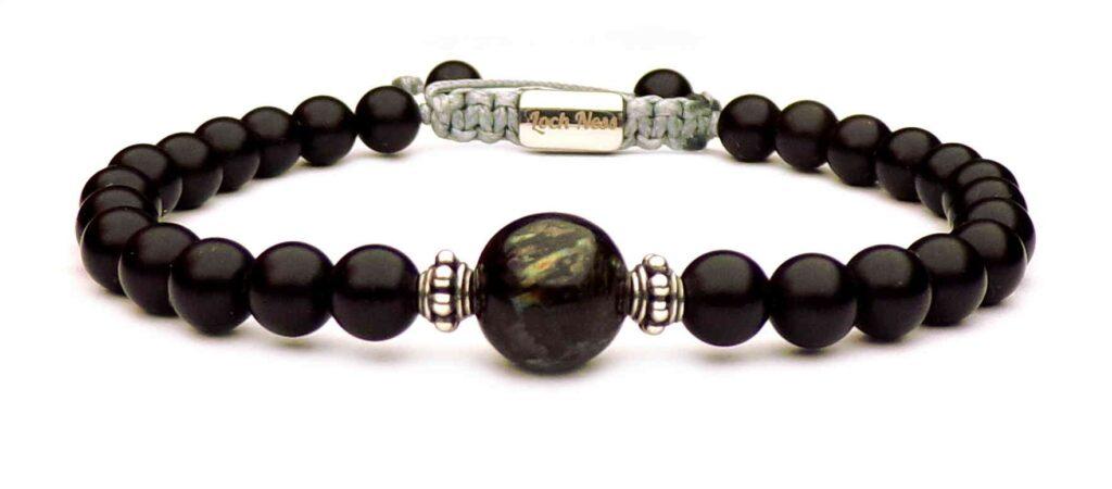 nuummite necklace. nuummite pendant