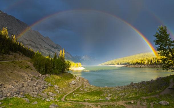 A Beautiful Image Of Rainbow